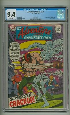Adventure 372 (CGC 9.4) White pgs; Timber Wolf and Chemical King join (c#17273)
