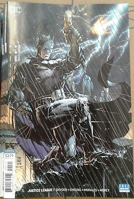 Justice League #1 Jim Lee Batman cover