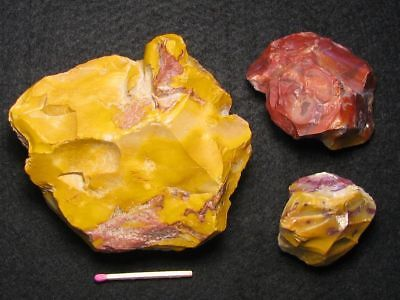 55.000Y.O: ACE 3x CORE NUCLEUS NEANDERTHAL MAN JASPIS PALEOLITHIC MOUSTERIAN
