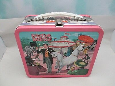 Vintage Metal DOCTOR DOLITTLE Lunch Box W/ Thermos By Aladdin