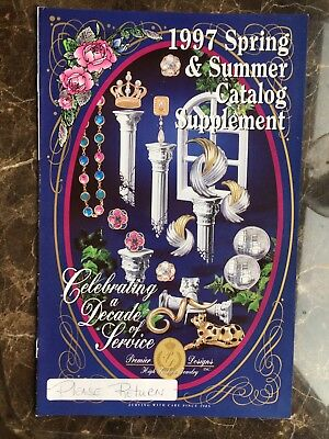 Premier designs High Fashion Jewelry Reference CATALOG Book 1997 Spring Summer