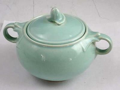 LuRay Taylor Smith & Taylor Surf Green Covered Sugar Dish Bowl