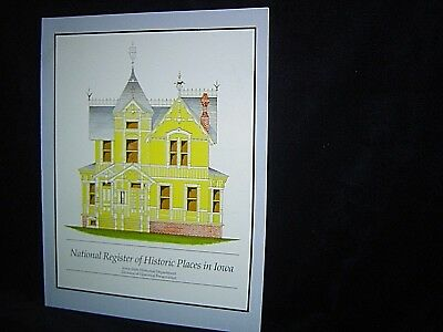 NATIONAL REGISTER OF HISTORIC PLACES IN IOWA Architecture HISTORY Genealogy 1982