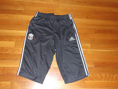 Adidas Liverpool Football Club Soccer Shorts Mens Large Excellent Condition