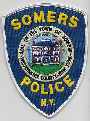 Somers Police State of NEW YORK NY Shoulder Patch