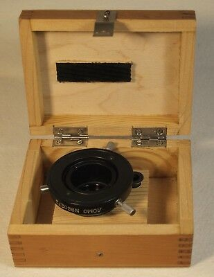 LOMO OI-13 Darkfield Condenser in Original Wooden Box