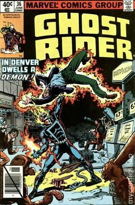 Ghost Rider (1st Series) #36 1979 VG/FN 5.0 Stock Image Low Grade