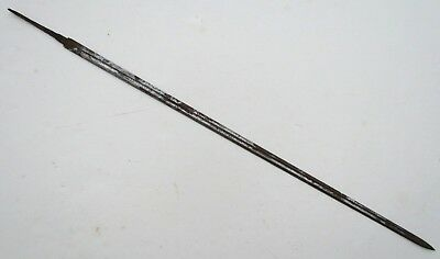 SWORD BLADE ETCHED ANTIQUE for PARTS