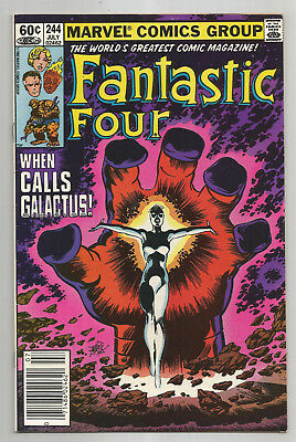 FANTASTIC FOUR # 244 * Frankie Raye becomes NOVA New Hearald of GALACTUS
