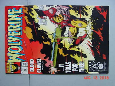 Wolverine # 36    1991    Silvestri art   Blood and Claws pt 2    VF-