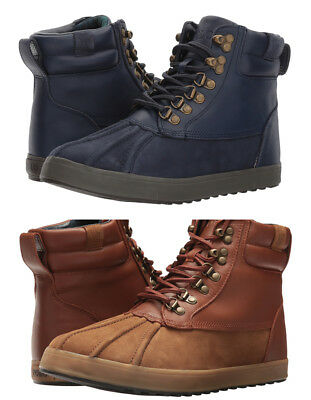 Polo Ralph Lauren Mens Regnald Lace Up Duck Toe Casual Fashion Work Boots Shoes