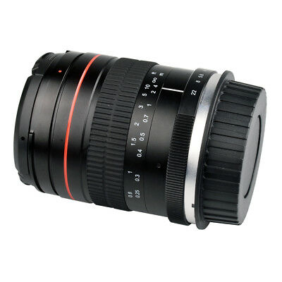 35mm F/2 Lens Full Frame Manual Lens Prime Wide Angle Lens For Canon Cameras New