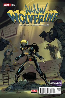 All-New Wolverine 2 A Gabby Honey Badger first appearance 1st printing vfnm