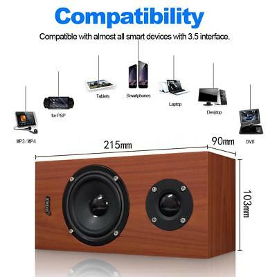 SADA Wired Speaker Stereo Bass Music Player Subwoofer Loudspeaker for Laptop PC