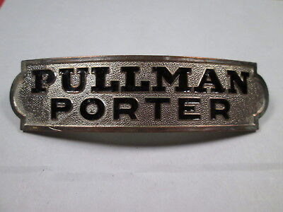 Pullman Company PORTER Uniform Hat Badge