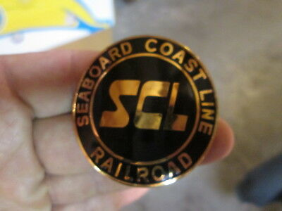 SCL Seaboard Coast Line CONDUCTOR Uniform Hat Badge