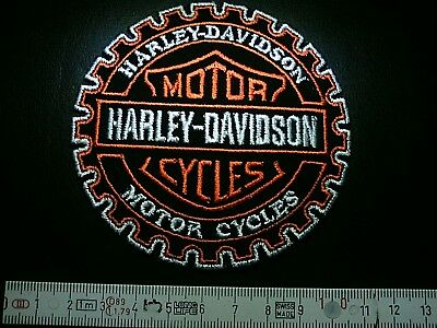 HARLEY DAVIDSON Wheel Aufnäher HARLEY DAVIDSON Wheel Patch Патчи 9,0 cm dN IRON