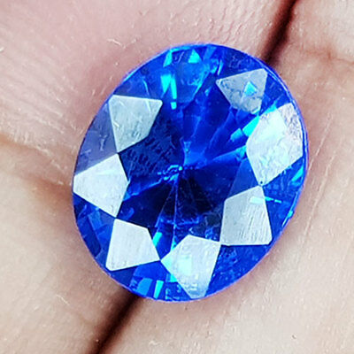 4.91 Cts 100% Aaa+ The Best Color Purplish Blue Natural Spinel