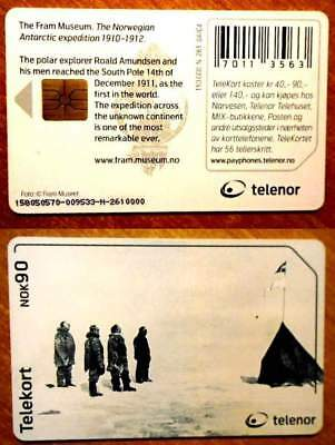 Norvege - Carte A Puce - Antartic Expedition - N 261 - 04/04