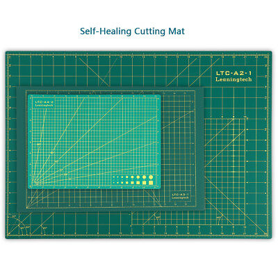 LTC PVC Self Healing Cutting Mat 3-Ply Double Sided Non Slip Pad Patchwork Tool