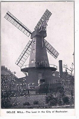 Kent - Delce Windmill, The Last In The City Of Rochester, 1962