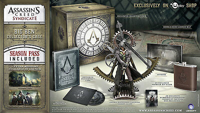 PC Assassins Creed: Syndicate - Big Ben Collectors Edition - new/nouveau/nuovo