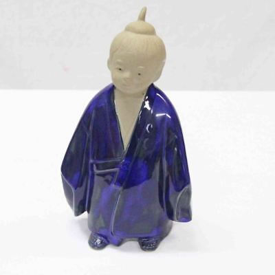 Statue Figurine of Japanese boy wearing traditional clothing #15027
