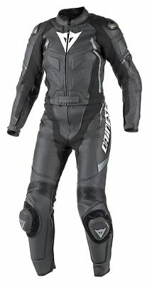 Dainese 2513420 Women's Leather Suit Motorcycle Racing 2-tlg Avro D1 Schw-Antr