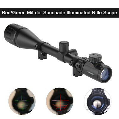 Excelvan 11mm Riflescope Rifle Scope Zielfernrohr Jäger Sight Hunting W/Mount DE