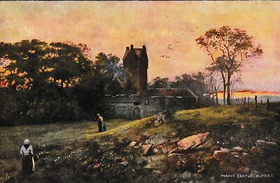 Dundee - Mains Castle - Tuck Oilette post card 1904