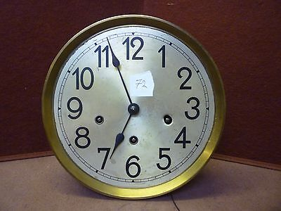 Small 1930s Grandfather Clock Spring Driven Westminster Chime Movement+Dial (72)