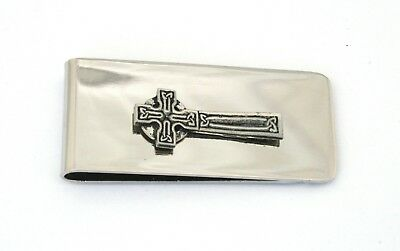 Celtic Cross Money Clip FREE ENGRAVING Celtic Gift Present