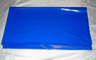 """1 Metre Sold by the Meter PVC Foil """" Azzurro """" Blue 150 Cm Wide New Diargh"""