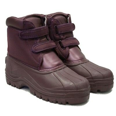 Town & Country Charnwood Aubergine Boots, Size 4