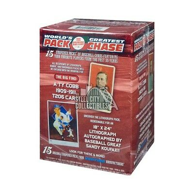 2017 Tristar Worlds Greatest Pack Chase Series 10 Baseball Greats Box (Red)