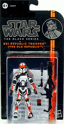 Republic Trooper The Old Republic Star Wars Black Series Collection 2014 Hasbro