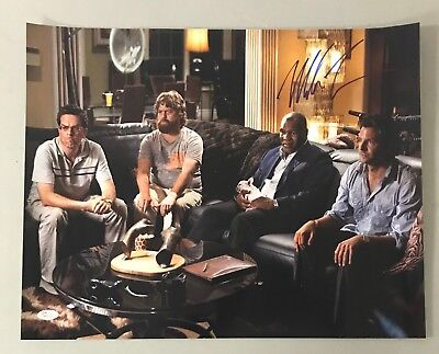 Mike Tyson Signed 16x20 THE HANGOVER Photo AUTO JSA WITNESSED Sticker ONLY HOF