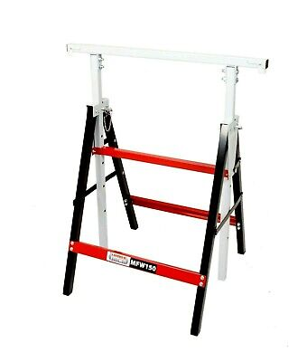 Metal Work Horse Stand Telescopic Folding Builders Trestle