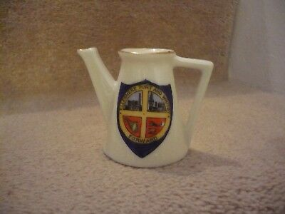 A Vintage Cable China H.ltd L Ellesmere Port And Whitby Forward Milk / Water Jug