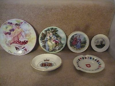 A Collection Of Vintage Pottery Plates Some Rare A Great Set Indeed.