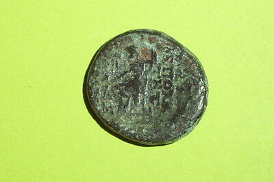SELEUCIS PIERIA ANTIOCH ORONTEM GREEK COIN seleucid ZEUS Nike ancient money VG