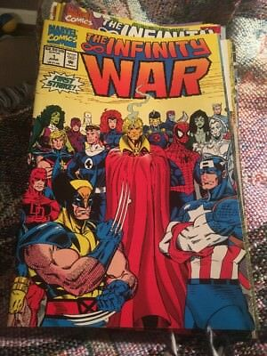 Infinity War #1 2 4 5 6! 5 Issues Thanos Avengers Movie Tie-in Gauntlet!!