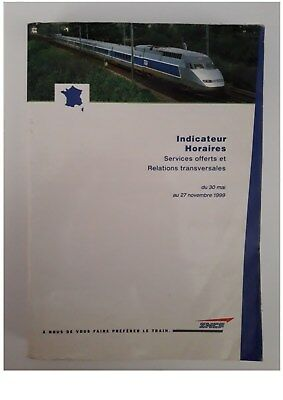 indicateur Sncf 05/1999-11/1999  Services offerts et Relations Transversales