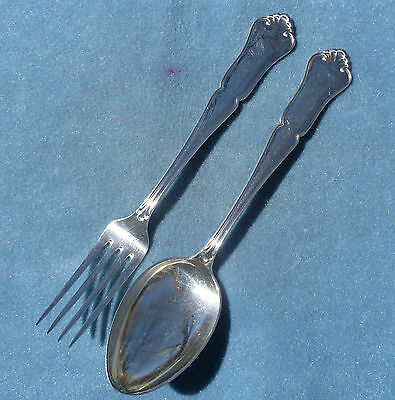 Marthinsen 830S Silver Large Spoon Fork Martha Norway