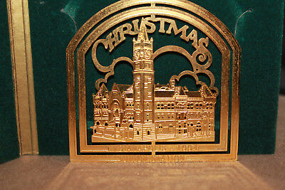 1994 Easter Seals Indianapolis Union Station Christmas Ornament