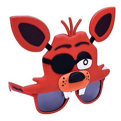 Sun-Staches Five Nights At Freddy's Foxy Fox Character Shades Sunglasses Glasses