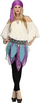 Deluxe Fortune Teller Kit Adult Cap Belt Gypsy Lady Psychic Costume Accessory
