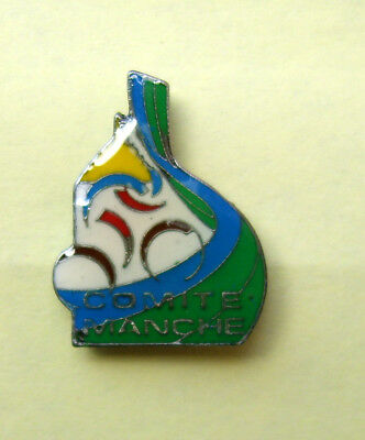 Pin's Mont Saint Michel, Cyclisme Manche Cycling