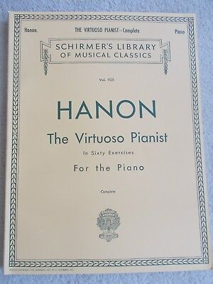 Hanon The Virtuoso Pianist 60 Exercises for Piano Unmarked