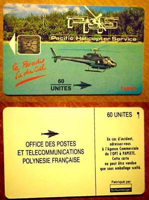 Polynesie Francaise - Pf 23 - Pacific Helicoptere Service